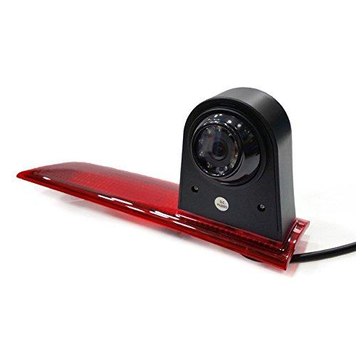 YMPA Rückfahrkamera kompatibel mit Transporter Ford Transit Custom Baujahr Bj 2012 bis 2015 IR Nachtsicht 10 Meter Kabel NTSC für Monitor Rückfahrsystem