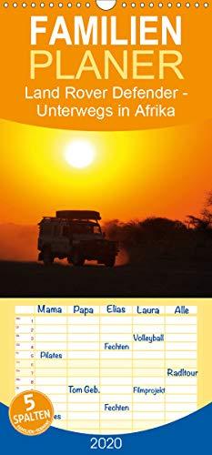 Land Rover Defender - Unterwegs in Afrika - Familienplaner hoch (Wandkalender 2020, 21 cm x 45 cm, hoch)