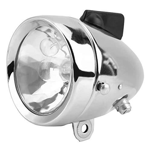 12V 6W motocicleta generador de fricción Dynamo faro trasero Kit de luz para bicicleta motorizada