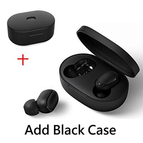 Xiaomi Redmi AirDots Bluetooth 5.0 Auriculares, audífonos inalámbricos en el oído con Funda de Carga de 300 mAh magnética Caja de Carga estéreo Auriculares con micrófono Juegos de música