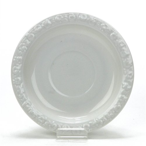 Maria White by Rosenthal, China Saucer, Classic Rose