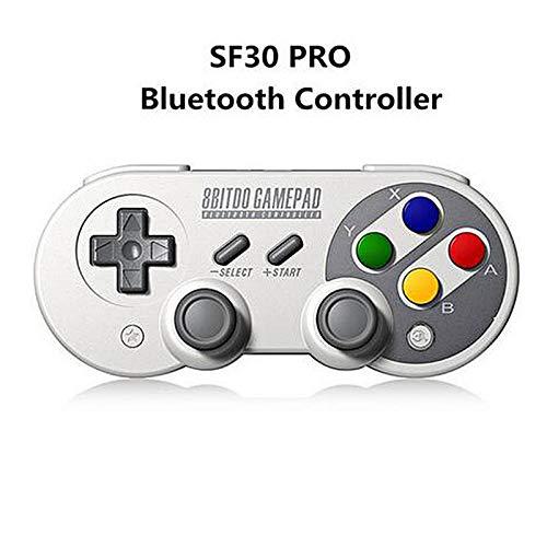 DZSF Gamepad para Nintendo Switch Controlador de Android Joystick Controlador de Juego inalámbrico Bluetooth SF30 Pro Gampad