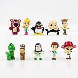 Brandless Un Conjunto de 10 Versiones Q Hot Moive Toy Story 4 Cartoon Woody Buzz Lightyear Jessie Fo...