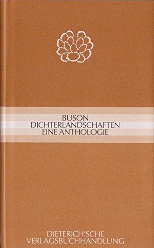 Dichterlandschaften: Eine Anthologie