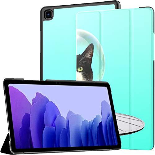 Funda protectora para Samsung Galaxy Tab A7 de 10,4 pulgadas, diseño de gato