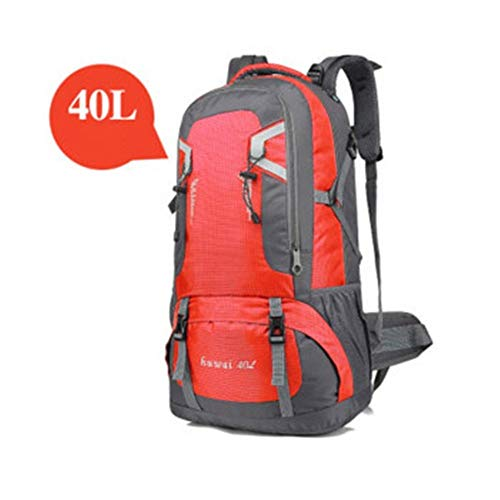 SongMyao Hiking Daypack Mountaineering Bag Outdoor Backpack Travel Large Capacity Backpack Multifunctional Waterproof Scratch-resistant Camping Travel Backpack 40L / 60L Multiple Colors Available