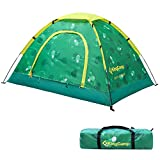 KingCamp Campingzelt Kinderzelt & Kinderschlafsack, Spielzelt für 2 Personen, Indoor Outdoor