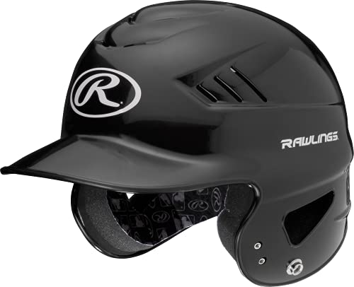 Rawlings RCFTB Coolflo NOCSAE T-Ball Molded Helmet, Black, 6 1 4 – 6 7 8