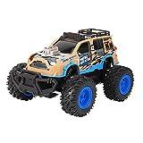 SXLCKJ Coche teledirigido, Motor Potente, 1:14 18 km/H 2WD RC Racing Car 2.4G SUV Control Remoto 500mAh (Juguete Inteligente)