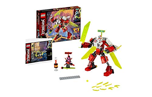 Collectix Lego NINJAGO Set: 71707 Kais Mech Jet, 2-in-1 Bauset + 30537 Merchant Avatar Jay
