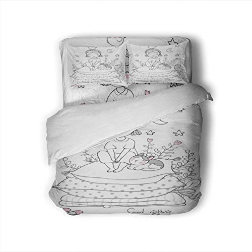 Girl and Cats.Good Night.Sweet Dreams.Bed Time.Bed Linen.Princess On The Pea Belarus,Bedding Sets Teenage Girls Bed Sheets King Size
