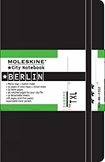 Moleskine Journey City Notebook, Berlin, Hard Cover, Pocket (3.5