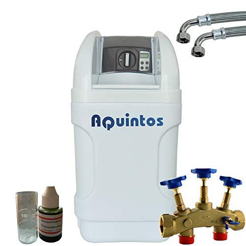 Wasserenthärter Entkalker MKB 40 Eco-Line von Aquintos Wasseraufbereitung | Entkalkungsanlage mit Bypass-Funktion für 100{50f8d92c5b883e919ecdc2107f871af255cb5599cd35e04a1a19819bf8cd2cd2} kalkfreies Wasser | Komplettset