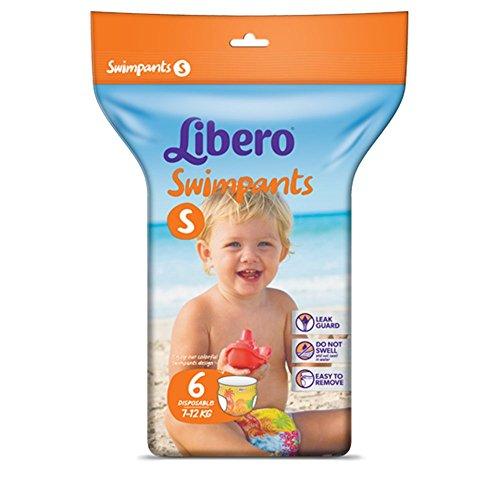 Pannolini Libero Swimpants Taglia S - Kg 7/12-36 pezzi (6 pacchi da 6)