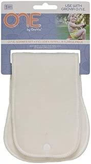 GroVia O.N.E. Reusable Cloth Diaper Soaker Set for the O.N.E. Baby Cloth Diaper