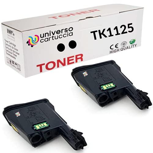 UniversoCARTUCHO CARTUCHO PARA KYOCERA TK-1125 NEGRO CARTUCHO COMPATIBLE 1T02M70NL1 COMPATIBLE CON ECOSYS FS-1061DN, FS-1325MFP (2 TK1125)