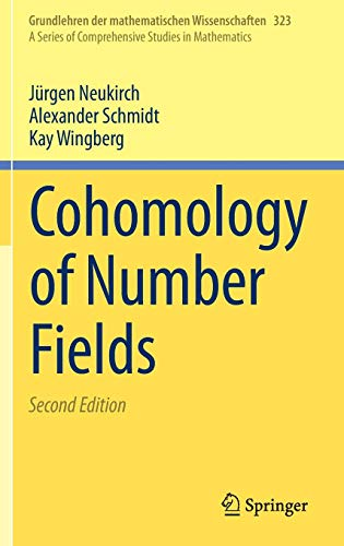 cohomology of number fields - 1