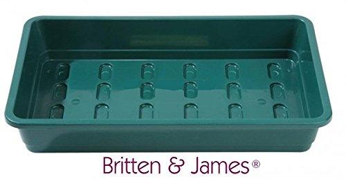 Britten & James Paquet de 12 Plateaux de semences de qualité Professionnelle sans Trous de