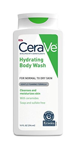 CeraVe Body Wash for Dry Skin   10 Ounce   Moisturizing Body Wash with Hyaluronic Acid   Sulfate & Fragrance Free (Pack of 2)