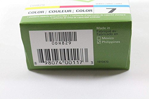 Dell DH829 series 7 966 968 968w Tri-Color Inkjet Ink Cartridge PK188 0PK188 CN-0PK188