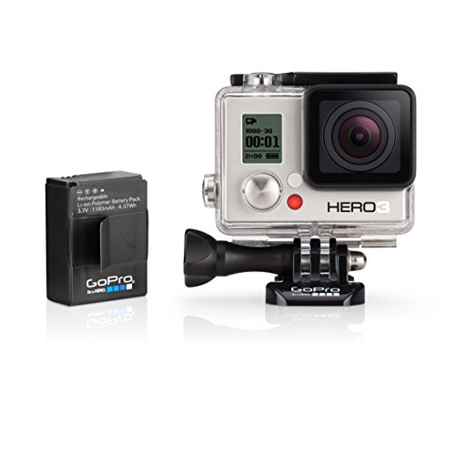 GoPro HERO3 Underwater Camera with Extra Battery - White