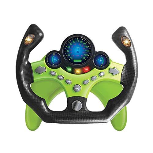LQKYWNA Lenkrad-Spielzeug, Kinder-Fahrsimulator Auto-Spielzeug Kinder Copilot Lenkrad Puzzle frühes pädagogisches Geschenk