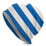 Hokdny Gorro De Punto para Adultos Gorro De Punto Unisex Informal Gorro Cálido Gorro De Punto Suave Y Cómodo Sombrero De La Bandera De Uruguay Unisex