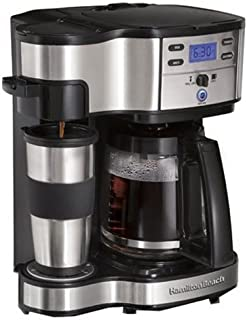 Hamilton Beach 49980Z 2-Way Brewer, 12-Cup