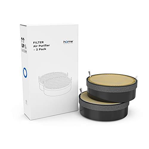 hOmeLabs True HEPA H13 Air Purifier Replacement Filter - Fits HME020248N - 2 Pack