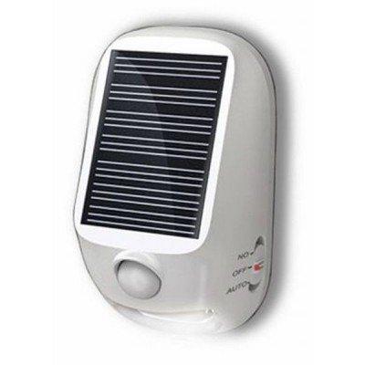 防水 太陽光 人感センサー 【LED】防雨型 屋外用 ソーラー式 LEDセンサーライト