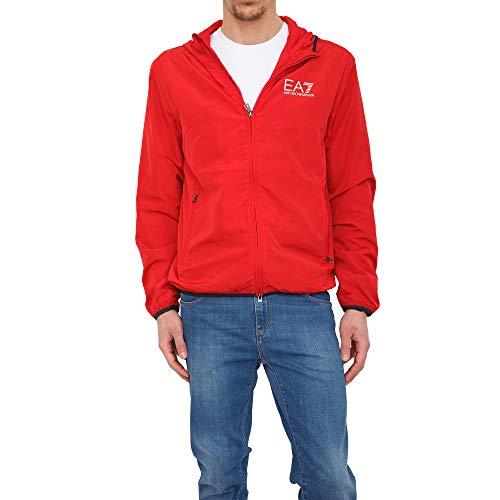 Emporio Armani EA7 Hombre Chaquetas de Invierno Rosso M
