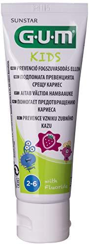 Gum Kids Tandpasta Aardbei, 50ml