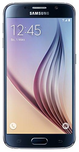 Samsung Galaxy S6 Smartphone (12,9 cm (5,1 Zoll) Touch-Bildschirm, 64GB Speicher, Android 5.0) schwarz [T-Mobile Branding]