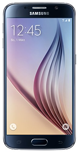 Samsung Galaxy S6 Smartphone (12,9 cm (5,1 Zoll) Touch-Display, 32GB Speicher, Android 5.0) schwarz [T-Mobile Branding]