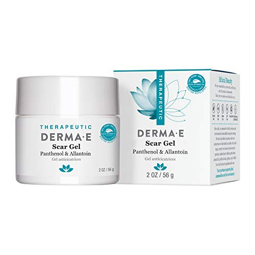 DERMA E Scar Gel - Therapeutic gel with Panthenol & Allantoin - Effective...