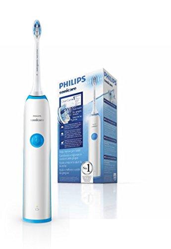 Philips Sonicare CleanCare HX3212/11 - Cepillo de dientes electrico, 1 cabezal, cargador, Color Azul