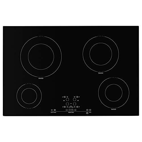 IKEA 501.826.20 Nutid 4 Elemente Induktionskochfeld, schwarz