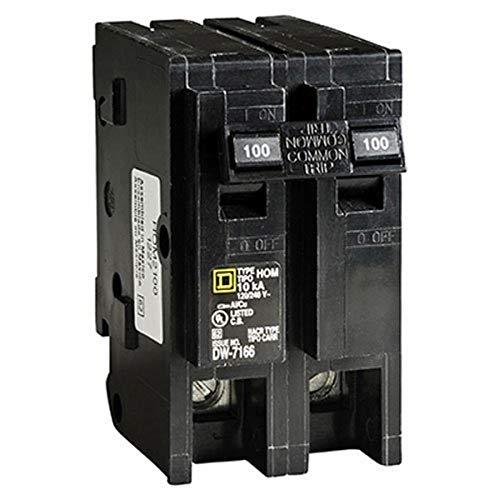100 amp breaker square d - 1