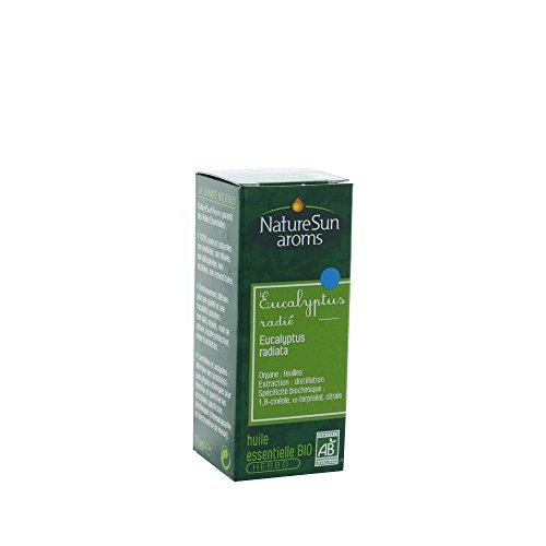 NatureSun Aroms Huile Essentielle Eucalyptus Radiata (Eucalyptus radiata) Bio 10 ml