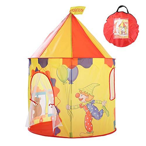 MXYPF Tienda De Campaña De Juegos Infantil Clown Castle, Osito De Circo Globo De Osito Juguetes para Niños Playhouse con Bolsa De Transporte, Regalo para Niños Y Niñas