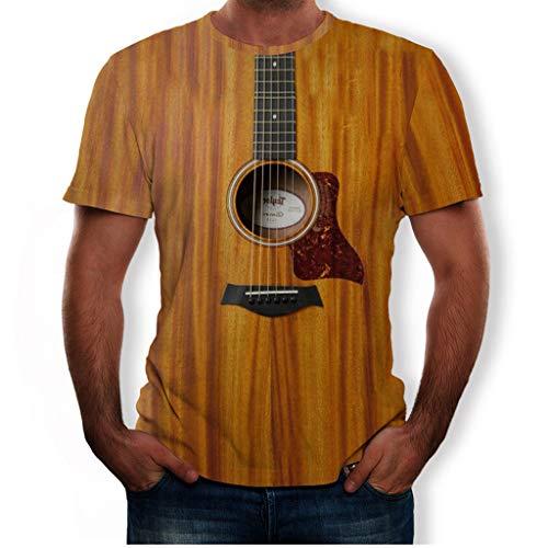 KPILP Herren Damen T-Shirt 3D Druck Kurze Ärmel Shirt Casual Basic O-Neck Rundhals Tees Mode Lässige T-Shirt