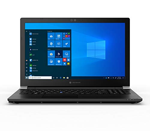 Dynabook Tecra A50-F1520 Laptop Computer (Formerly Toshiba) | 15.6 in. HD | Windows 10 Pro | 8th Generation Intel Core i5 Processor | 8 GB DDR4 | 256 GB SSD | Bluetooth