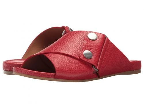 Calvin Klein(カルバンクライン) レディース 女性用 シューズ 靴 サンダル Pamice – Lipstick Red Leather 8 M [並行輸入品]