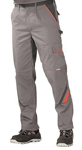 2420 Planam Bundhose Visline zink/orange/schiefer (106, zink/orange/schiefer) 106,Zink/Orange/Schiefer