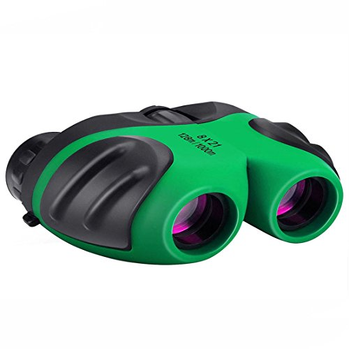 Toys for 4-8 Year Old Boys, BITy Binoculars for Kids Toys for 3-15 Year Old Boys Girls 3-12 Year Old Boys Girls Gifts Green