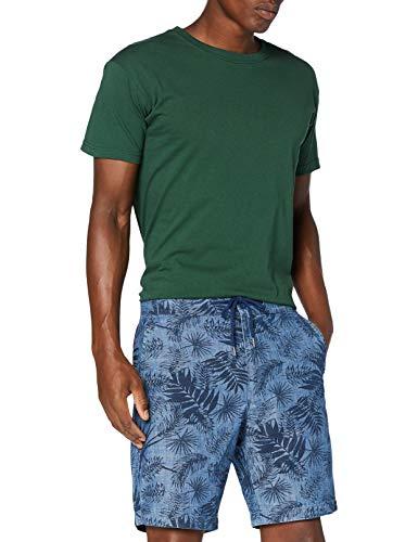 Lee Drawstring Short Pantalones Cortos, Azul (Washed Blue LR), 62 (Talla del Fabricante: 36) para Hombre