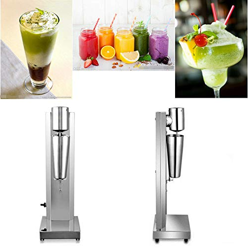 180W Commercial Electric Milkshake Maker Drink Mixer Shake Machine Smoothie Milk Ice Cream Blender 650ML