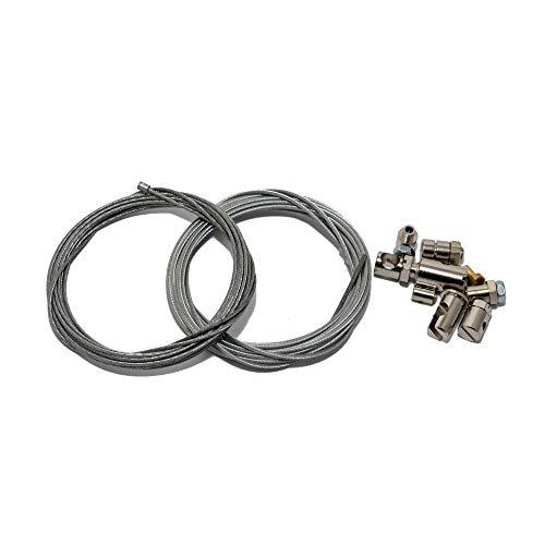 Set para reparación de Cable Bowden, Cable del Acelerador, Freno, Marchas y...