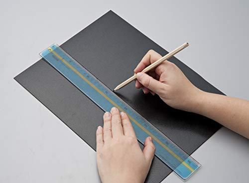 『リマーク かばんの底板 2枚組 ハサミで簡単に切れる ブラック』の2枚目の画像