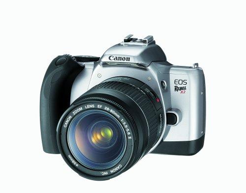 Canon EOS Rebel K2 Spiegelreflexkamera mit EF 28-80 II Objektiv-Set (35 mm)